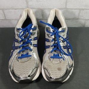 Asics GT-2170 silve/blue shoes size 11